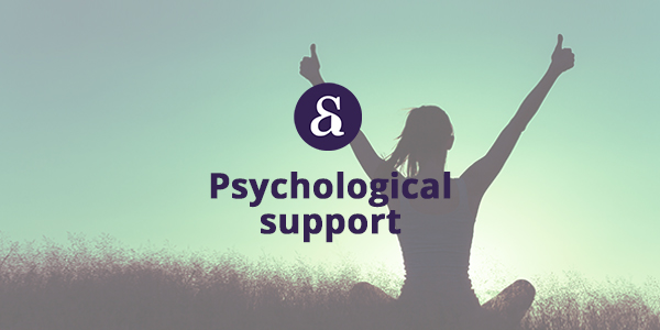 Salaet Advocats, psychological support services: psychological accompaniment, orientation, support and intervention in all types of situations.
